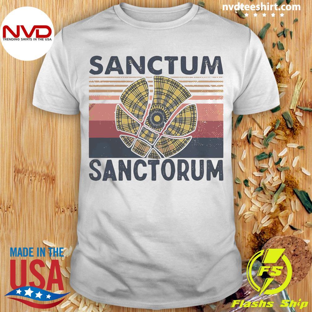 Vintage Magical Symbol Sanctum Sanctorum Shirt