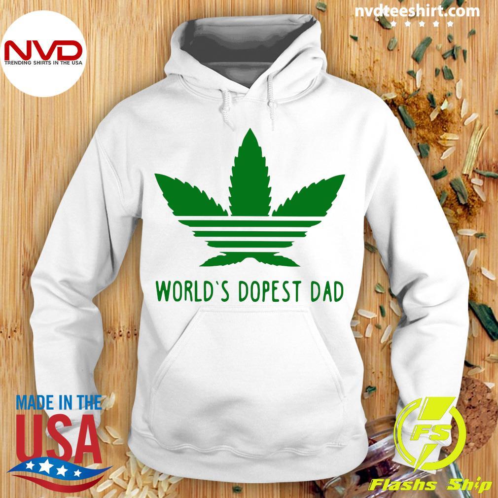 World's Dopest Dad Shirt Hoodie