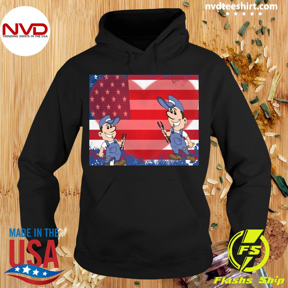 America Flag Fix Your Heart Shirt Hoodie