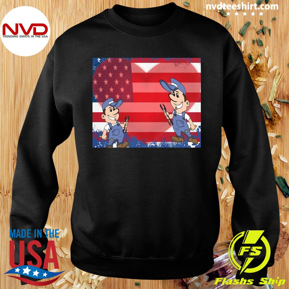 America Flag Fix Your Heart Shirt Sweater