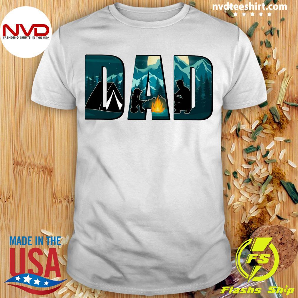 Dad Camping Shirt