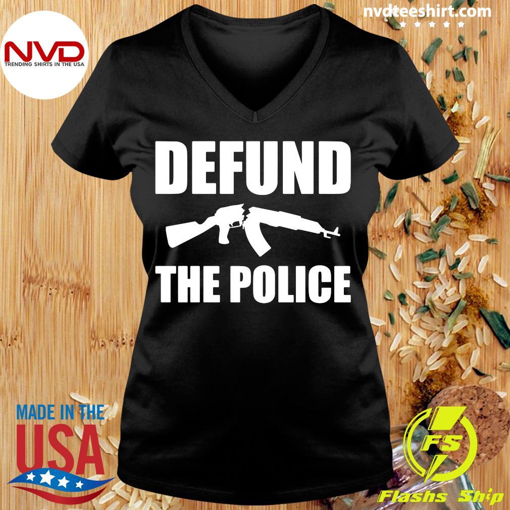 Defund The Police Shirt Ladies tee