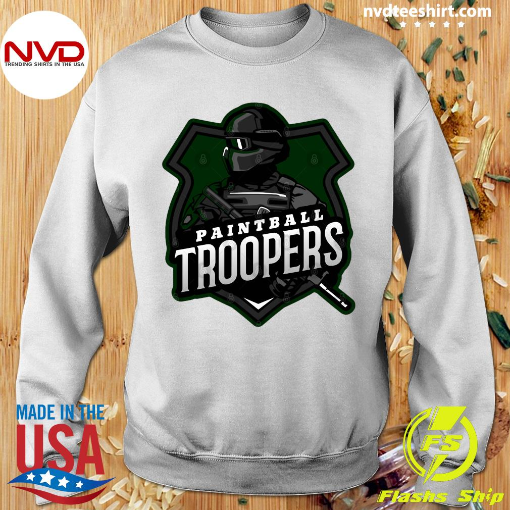 Funny Paintball Troopers Shirt Sweater