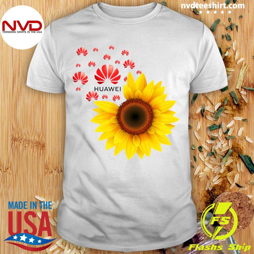 Funny Sunflower Huawei Logo Shirt