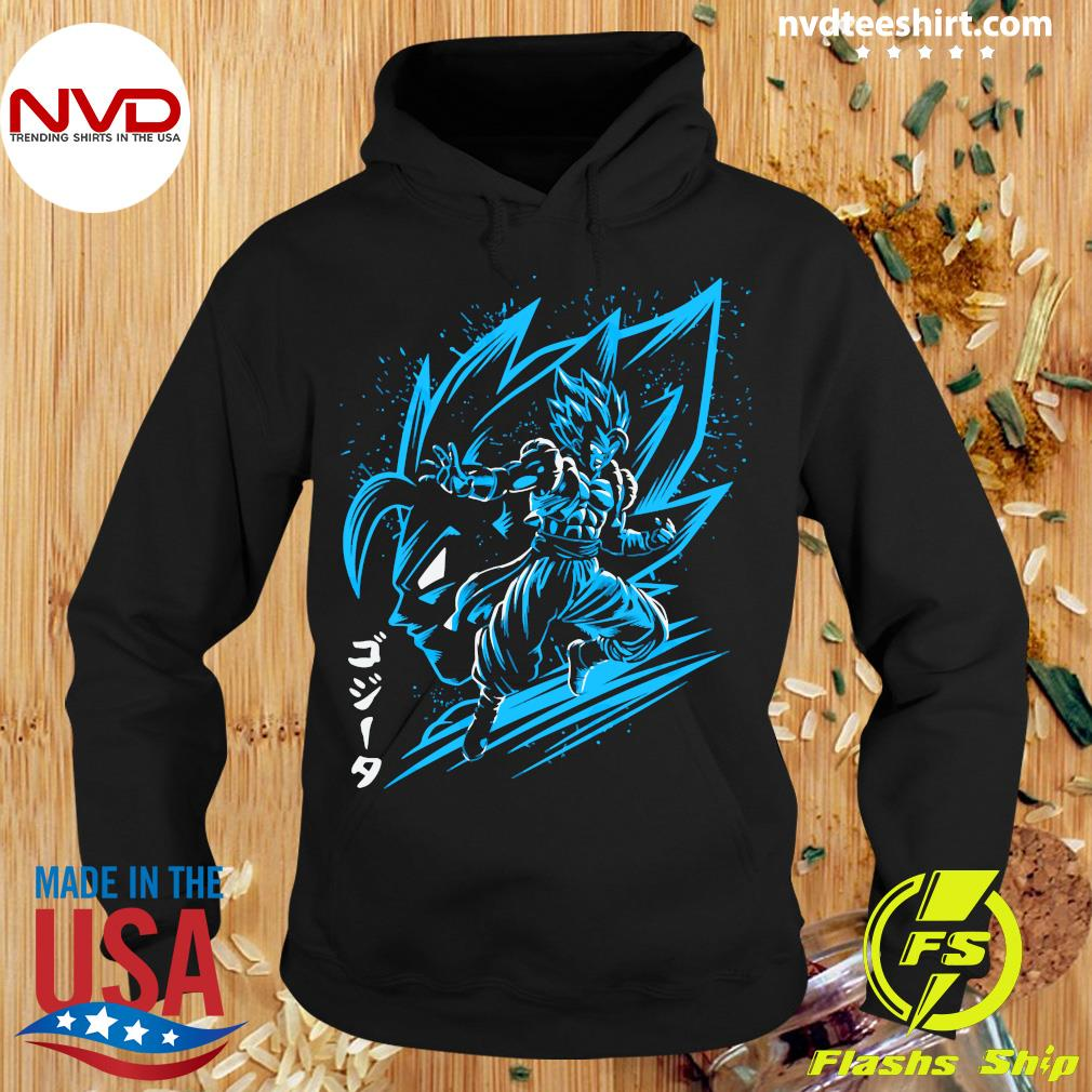 Inking Fusion Attack Gogeta Shirt Hoodie