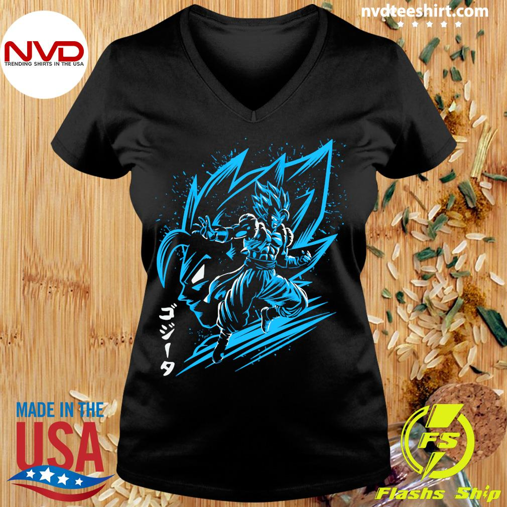 Inking Fusion Attack Gogeta Shirt Ladies tee