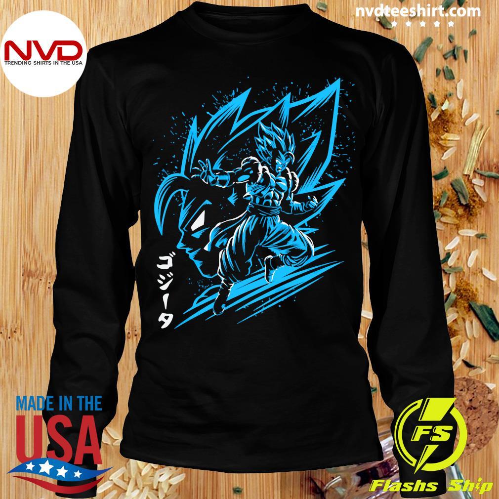 Inking Fusion Attack Gogeta Shirt Longsleeve