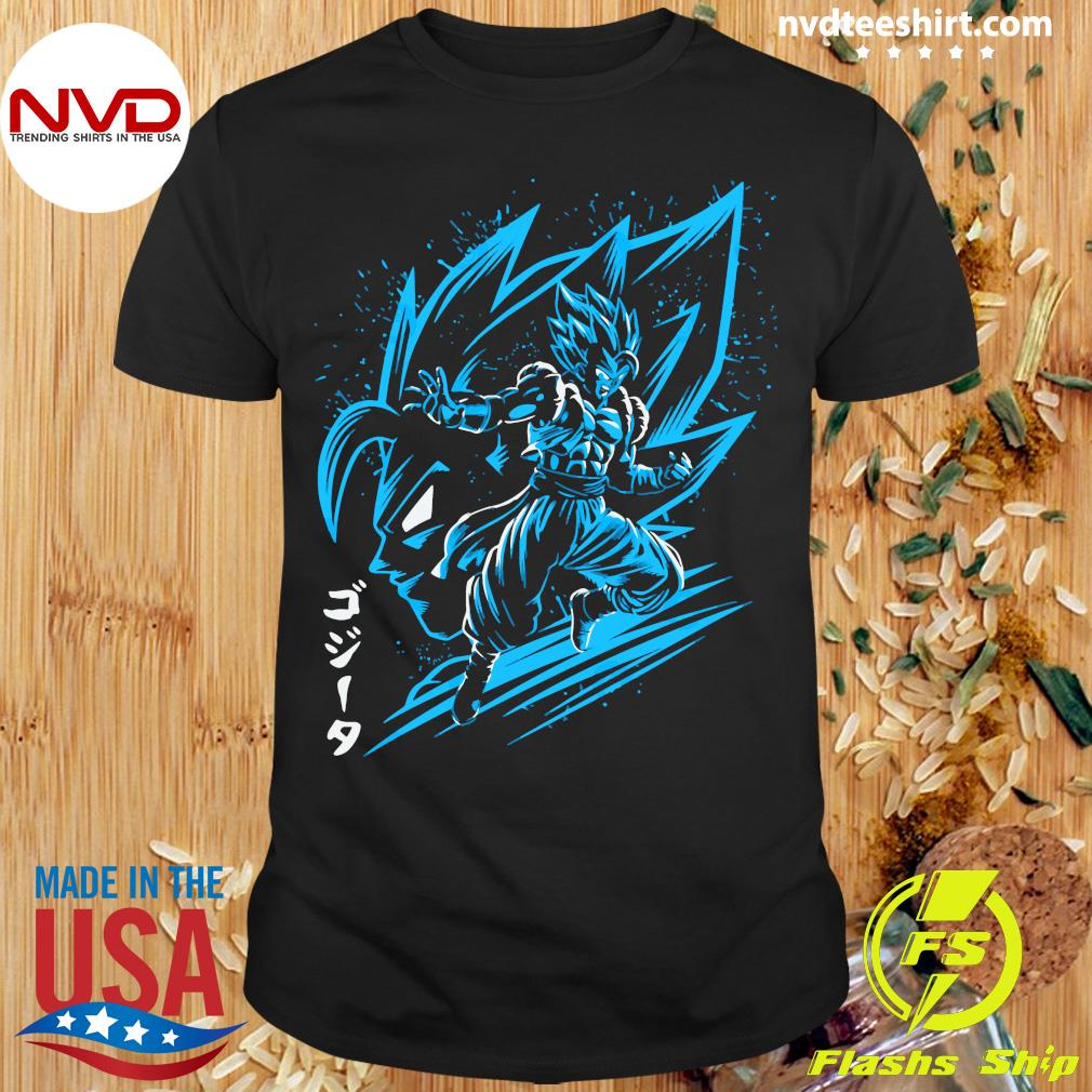 Inking Fusion Attack Gogeta Shirt