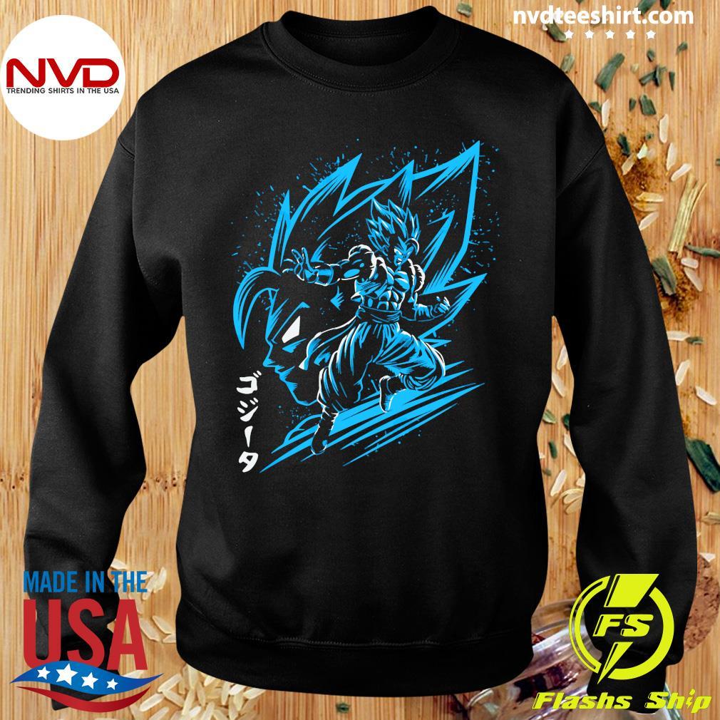Inking Fusion Attack Gogeta Shirt Sweater