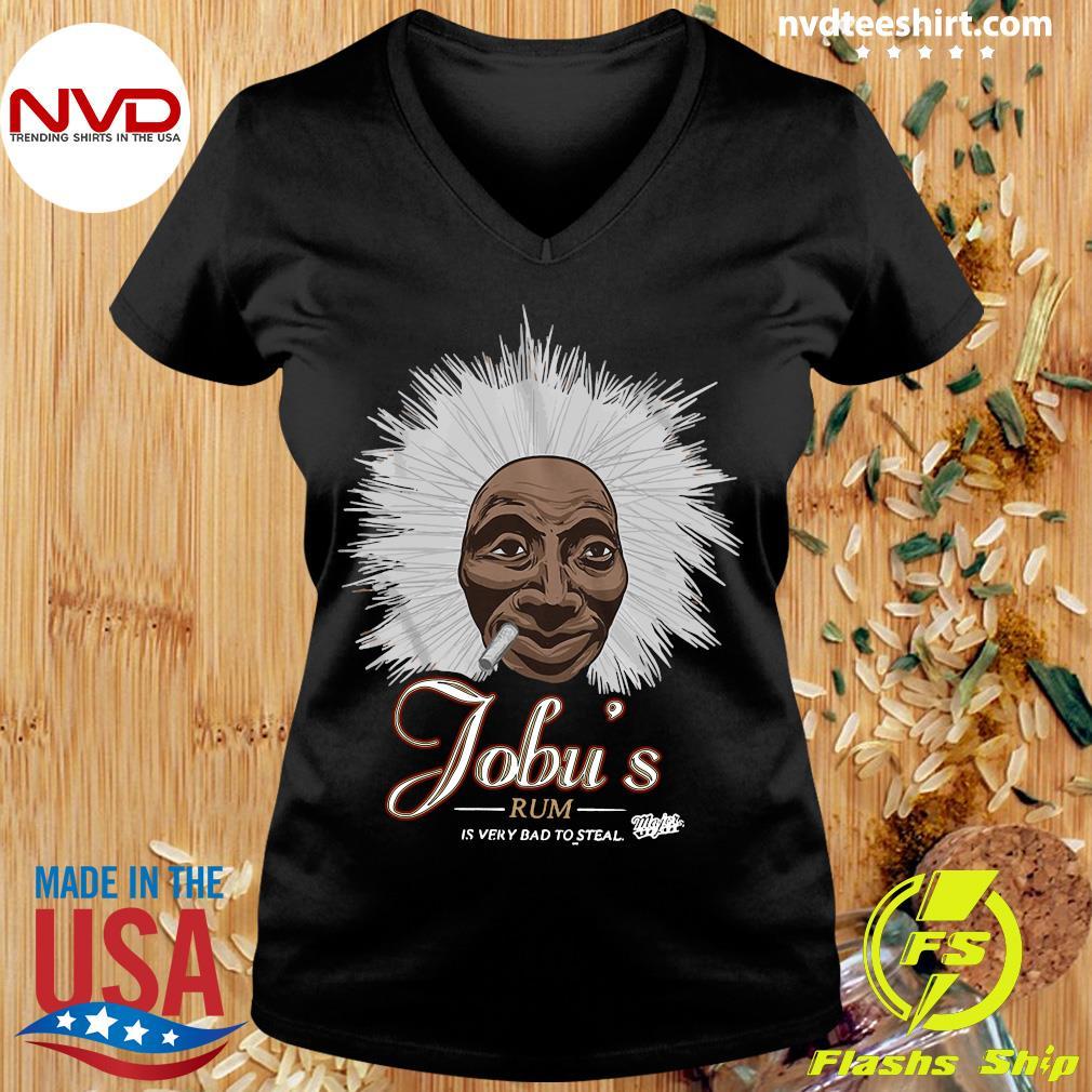 Major League Special Order Jobu'S Rum Adult Shirt Ladies tee