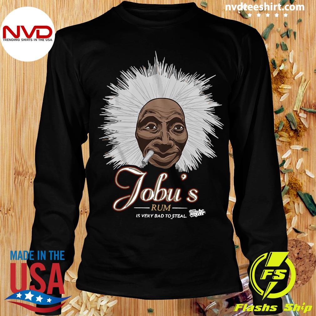 Major League Special Order Jobu'S Rum Adult Shirt Longsleeve