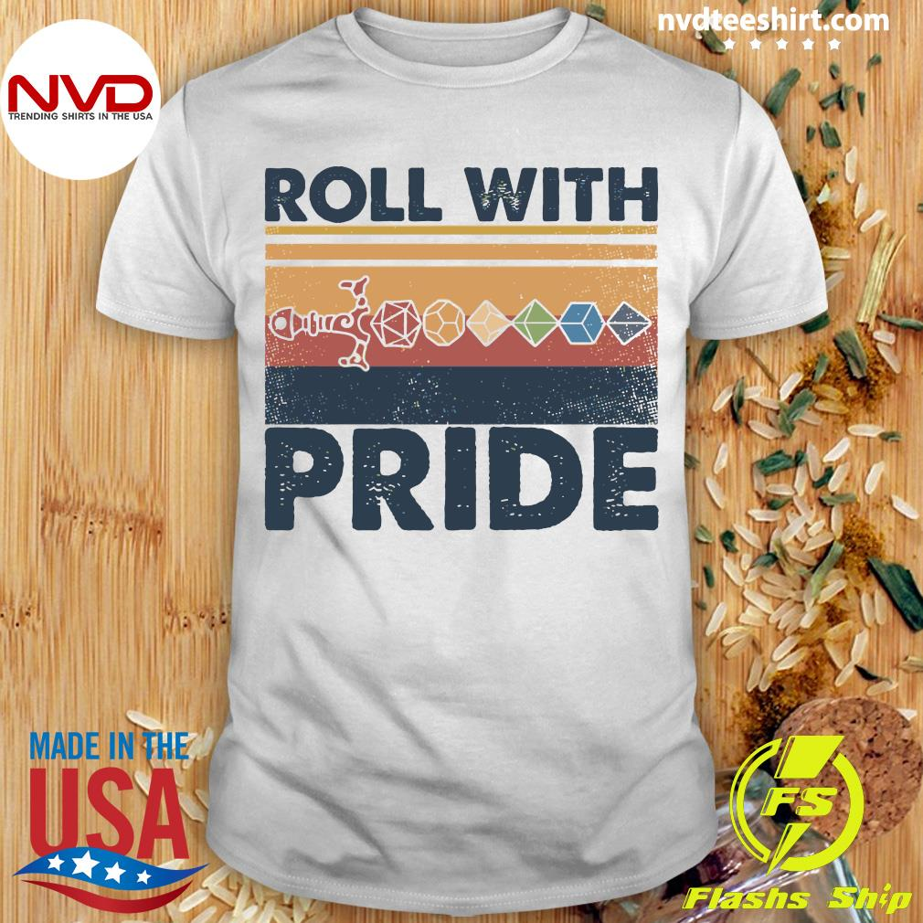 Roll With Pride Vintage Shirt