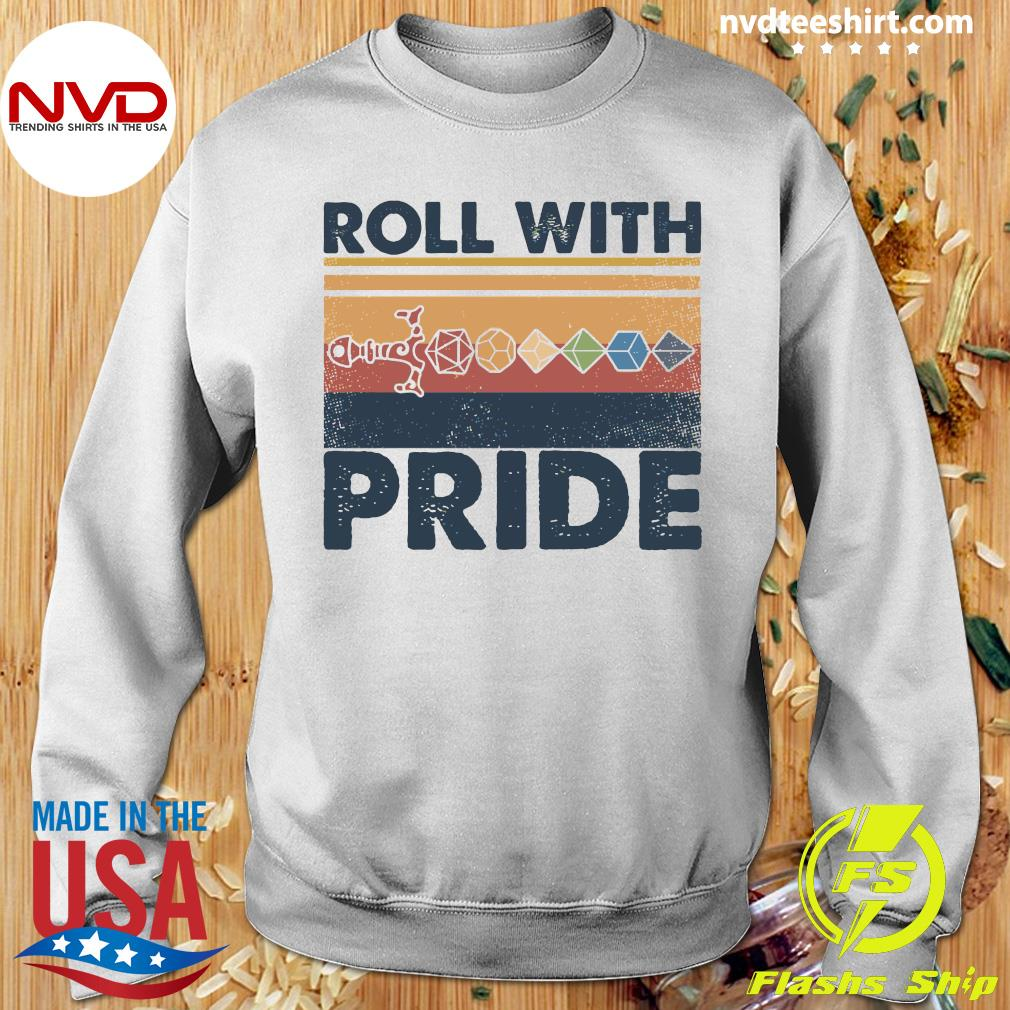 Roll With Pride Vintage Shirt Sweater
