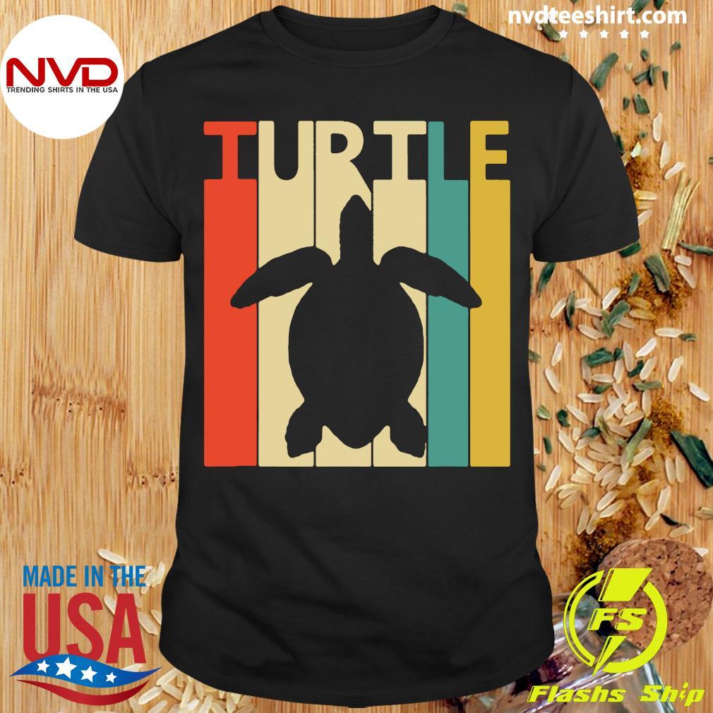 Turtle Spirit Animal Gift Baseball Funny Shirt