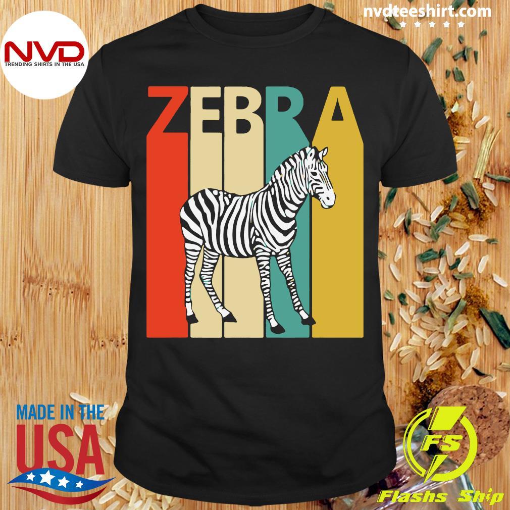 Zebra Animal Animal Gift Baseball Shirt