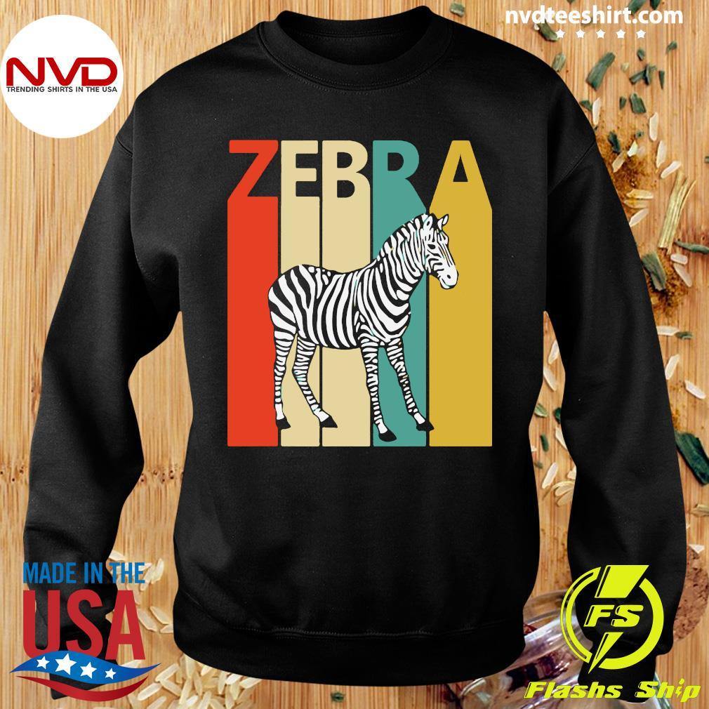 Zebra Animal Animal Gift Baseball Shirt Sweater