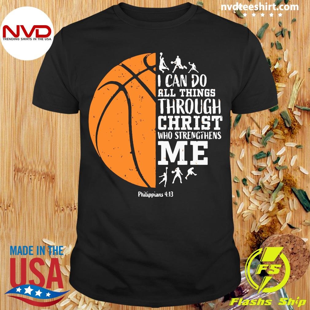 Christian Basketball Shirt Philippians Shirt