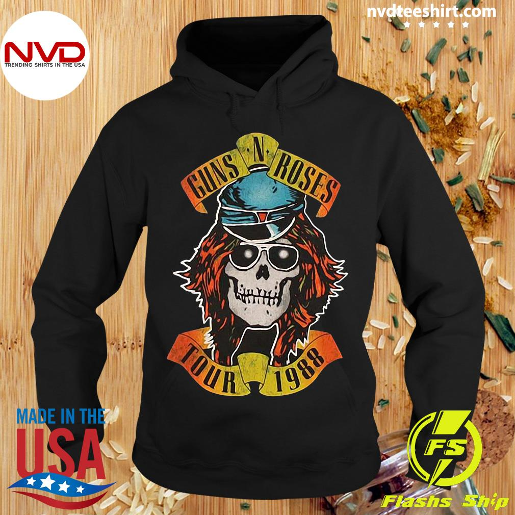 Guns N Roses Appetite For Destruction Tour 1988 Shirt Hoodie