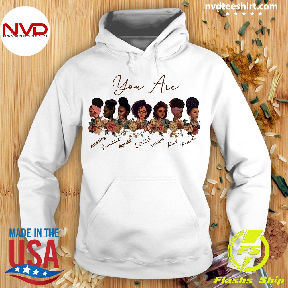 New Black Girl God Says You Are Black Beautiful Shirt Hoodie
