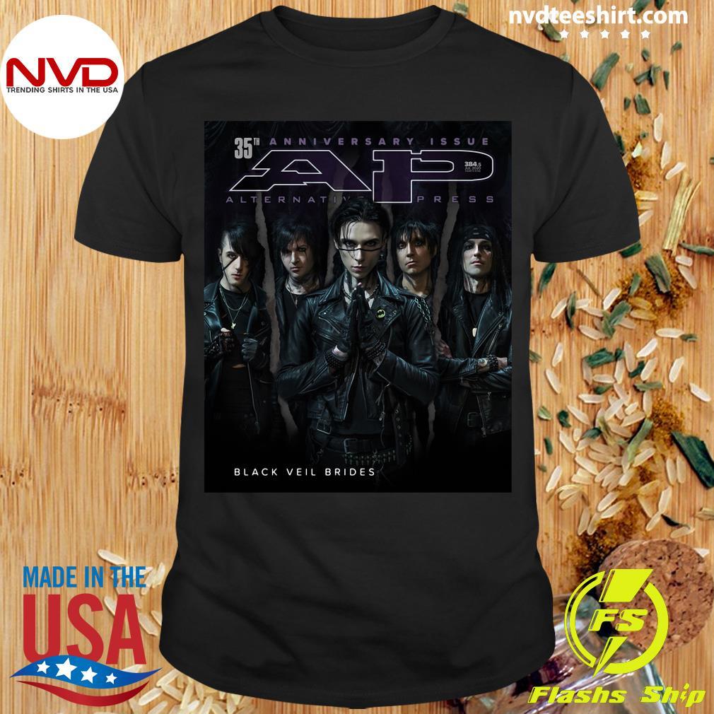 Official Black Veil Brides Alternative Press Magazine 35th Anniversary Issue Shirt