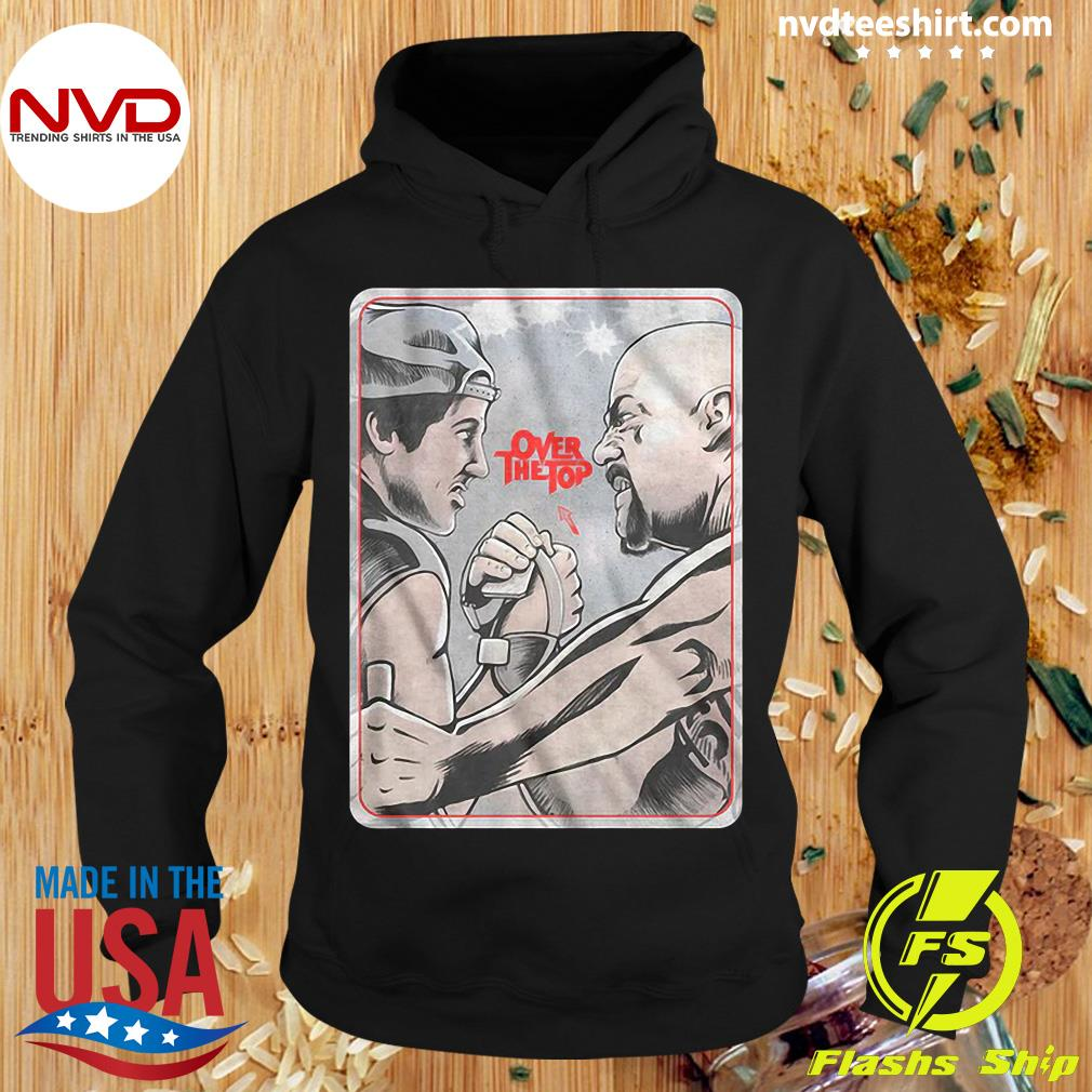 Official Lincoln Hawk vs Bull Hurley Over The Top Shirt Hoodie