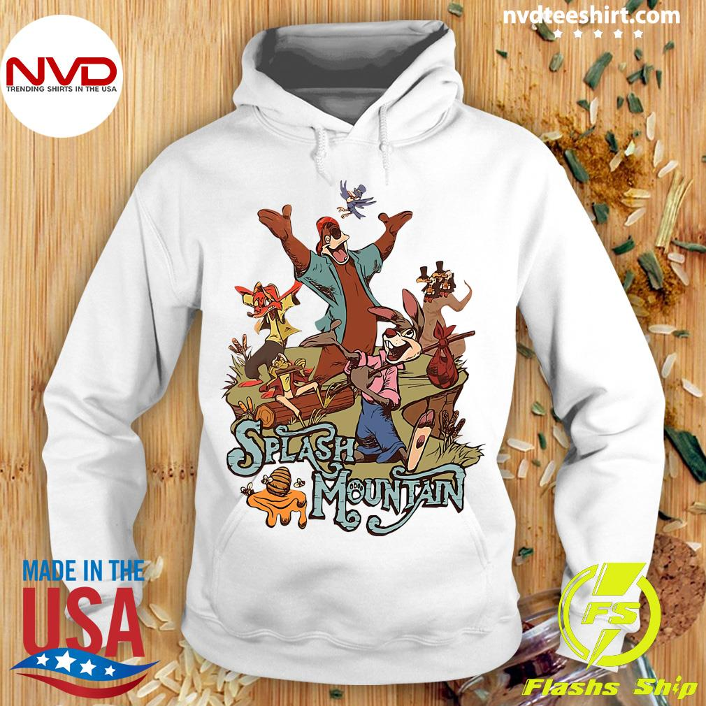 Official Walt Disney World Splash Mountain Shirt Hoodie