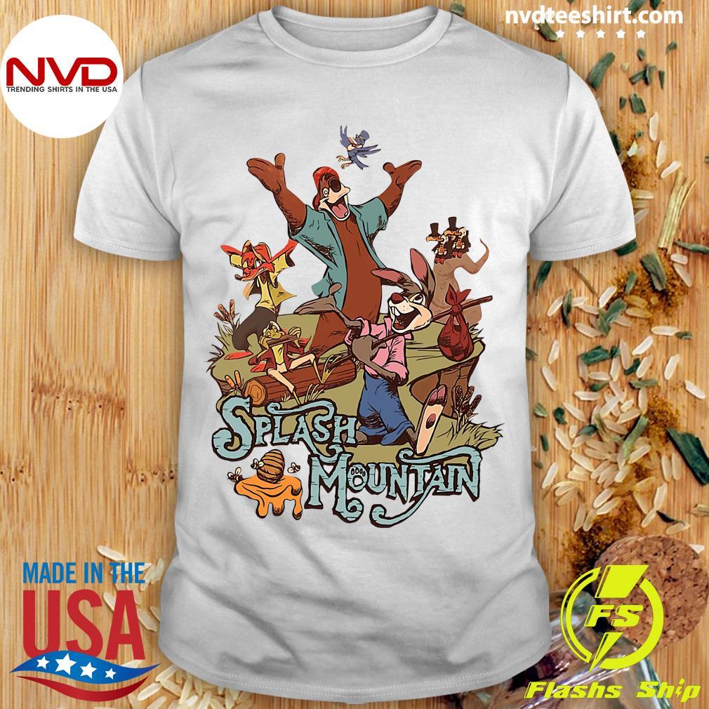 Official Walt Disney World Splash Mountain Shirt