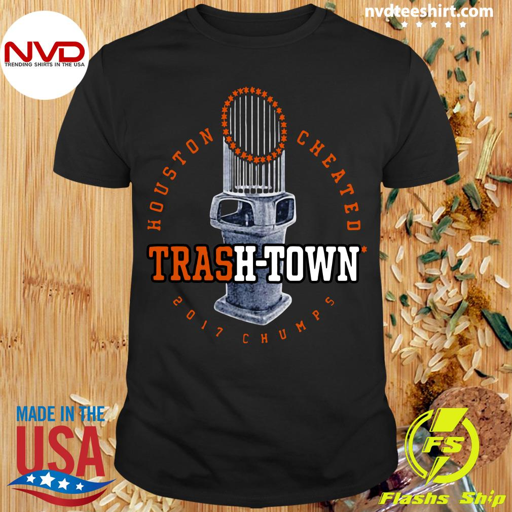 Official Zakat Houston Cheated Trash Town 2017 Chumps Shirt