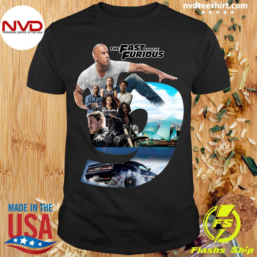 The Fast And The Furious 9 Character Shirt