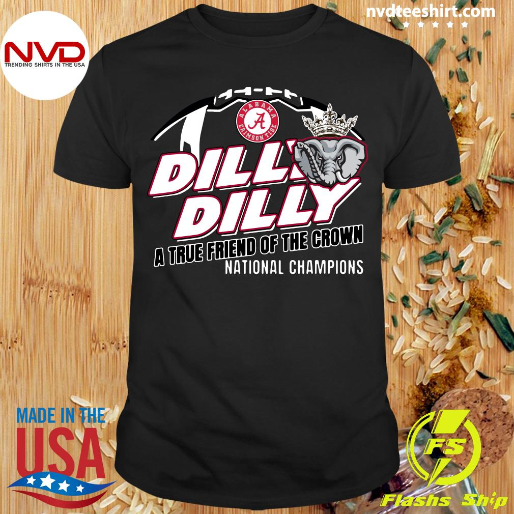 Dilly Dilly Youth Kids Pullover Alabama Crimson Tide Shirt