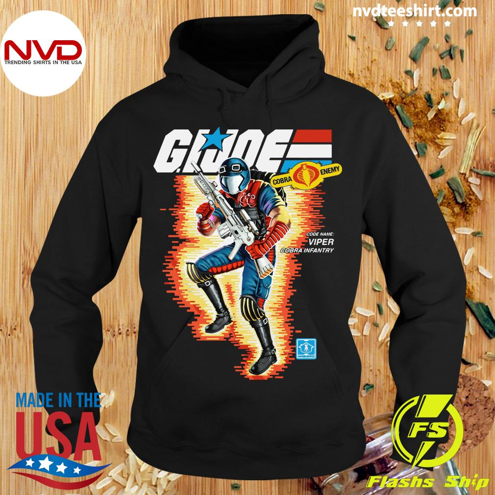 Funny Box Art Viper GI Joe Shirt Hoodie