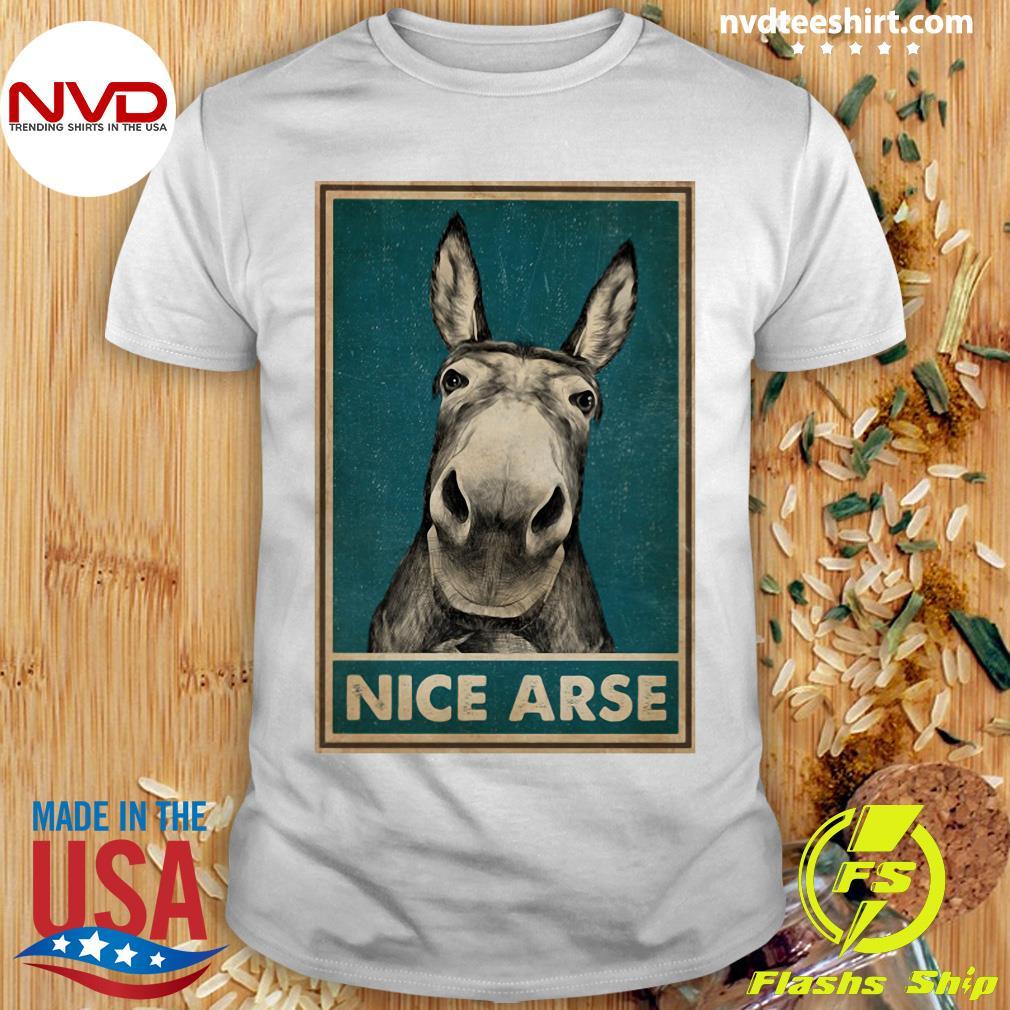 Funny Donkey Nice Arse Shirt
