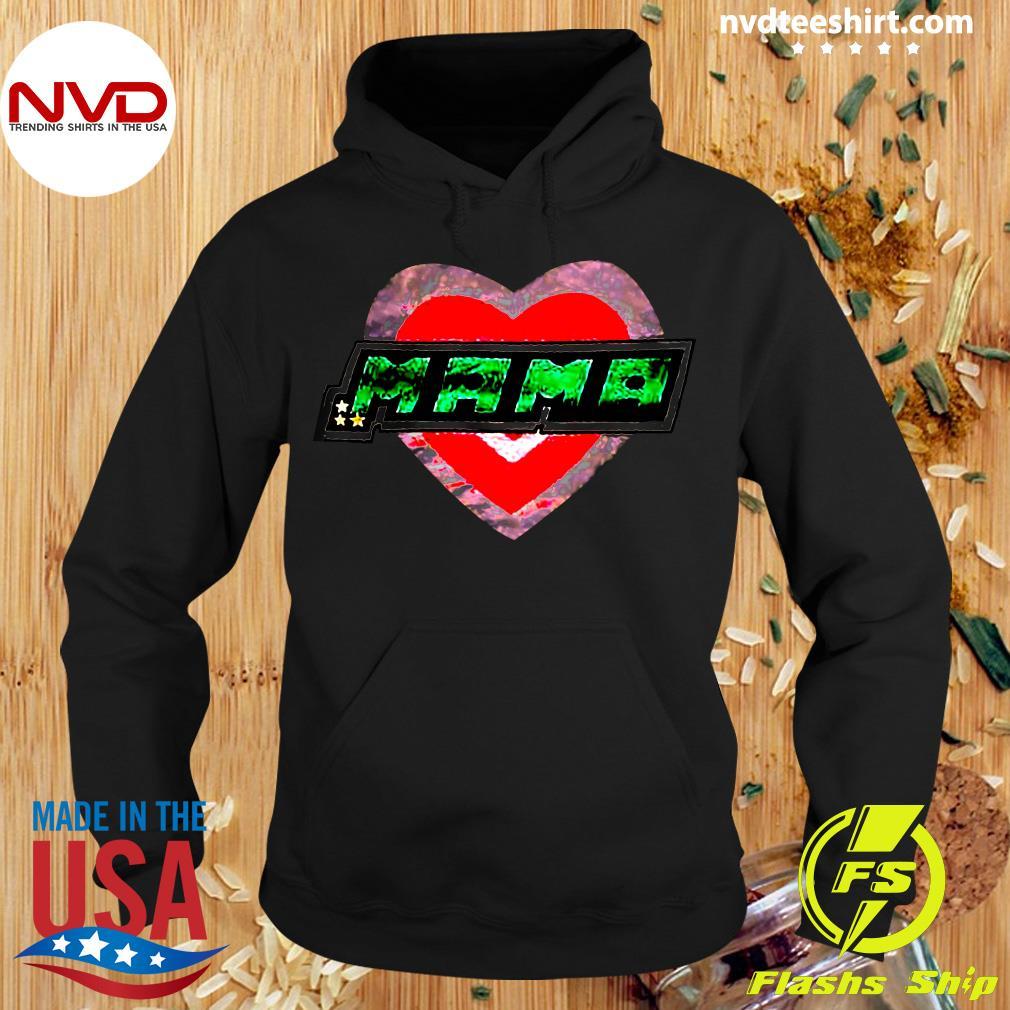 Funny Mama Heart Shirt Hoodie