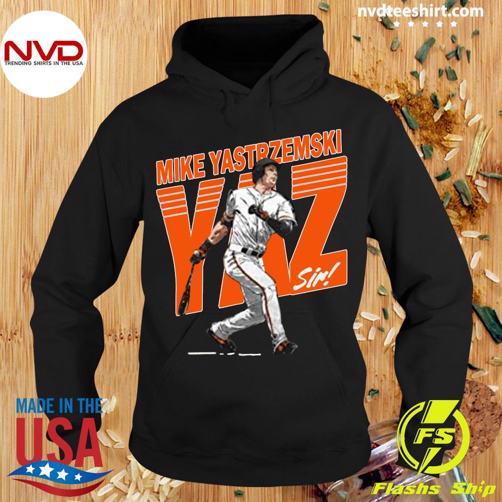 Funny Mike Yastrzemski Tee San Francisco Baseball Mike Yastrzemski Yaz Shirt Hoodie