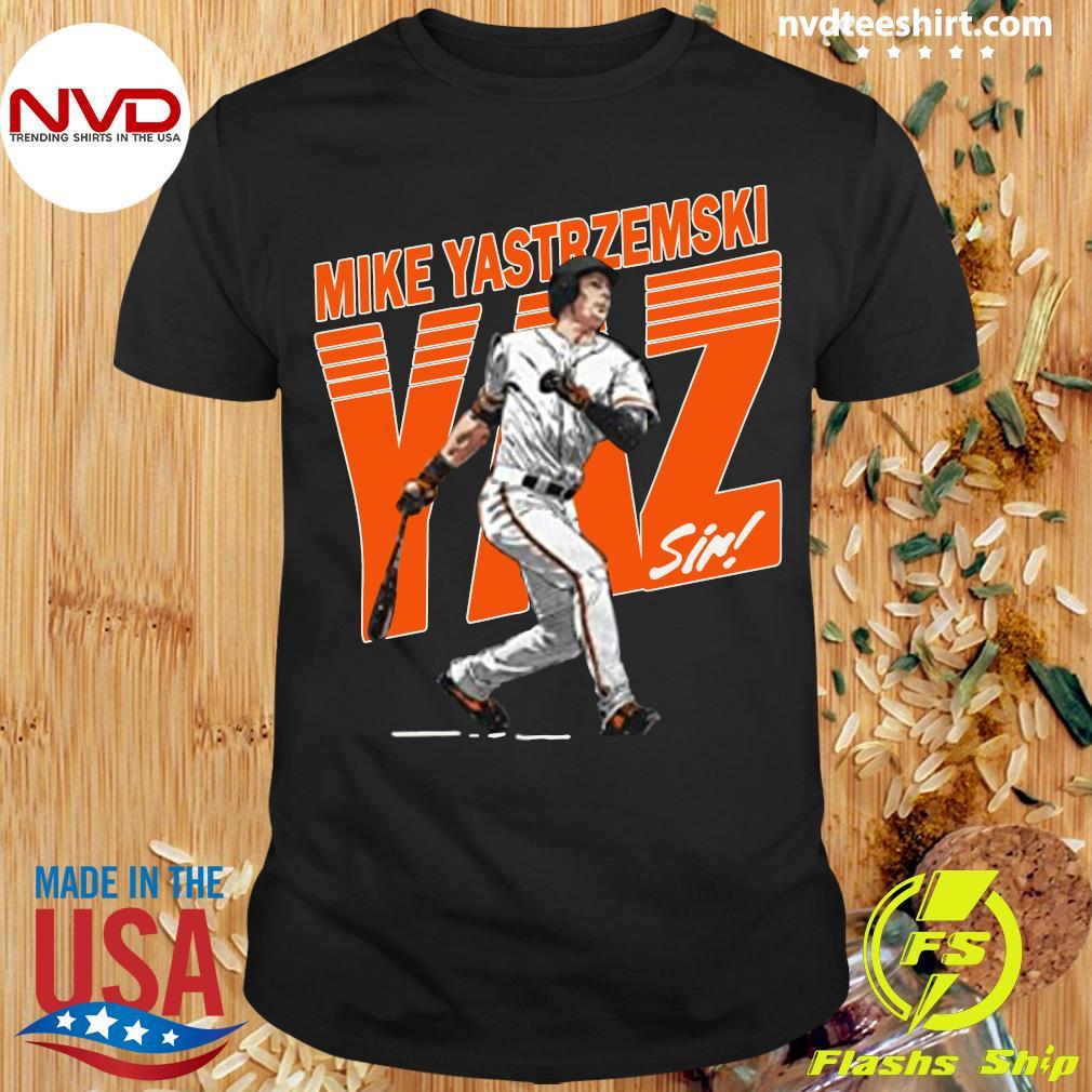 Funny Mike Yastrzemski Tee San Francisco Baseball Mike Yastrzemski Yaz Shirt