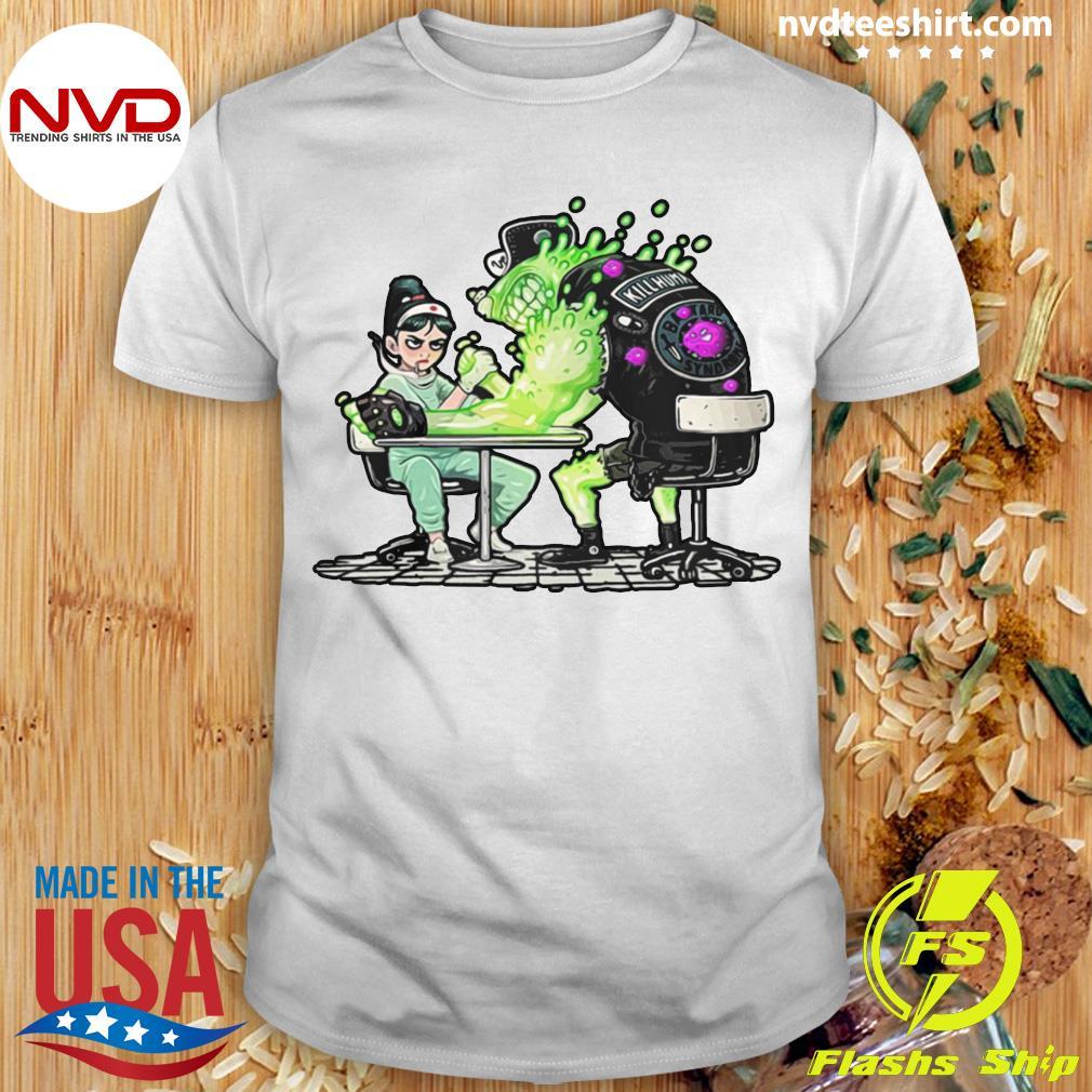 Funny Nurse And Covid 19 Virus 2020 Shirt