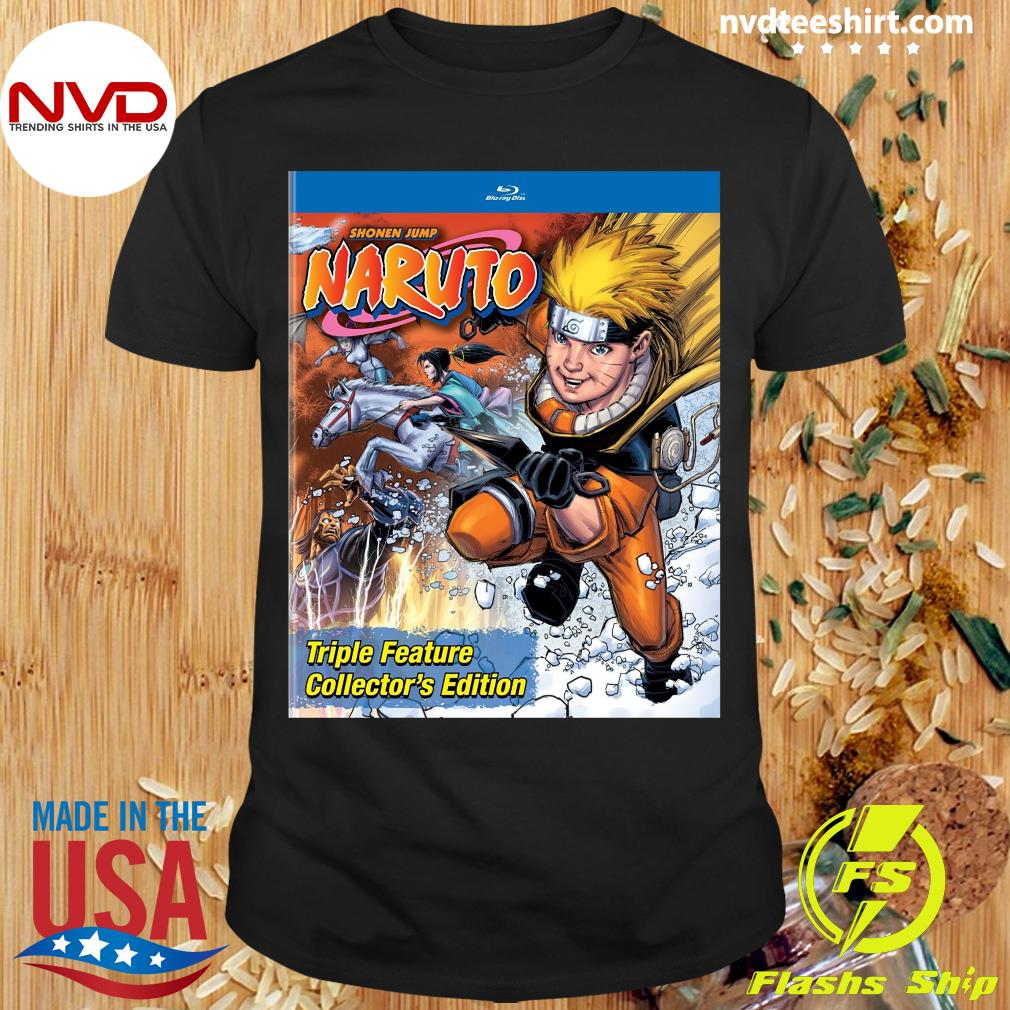 Funny Shonen Jump Naruto Triple Feature Collector's Edition Shirt