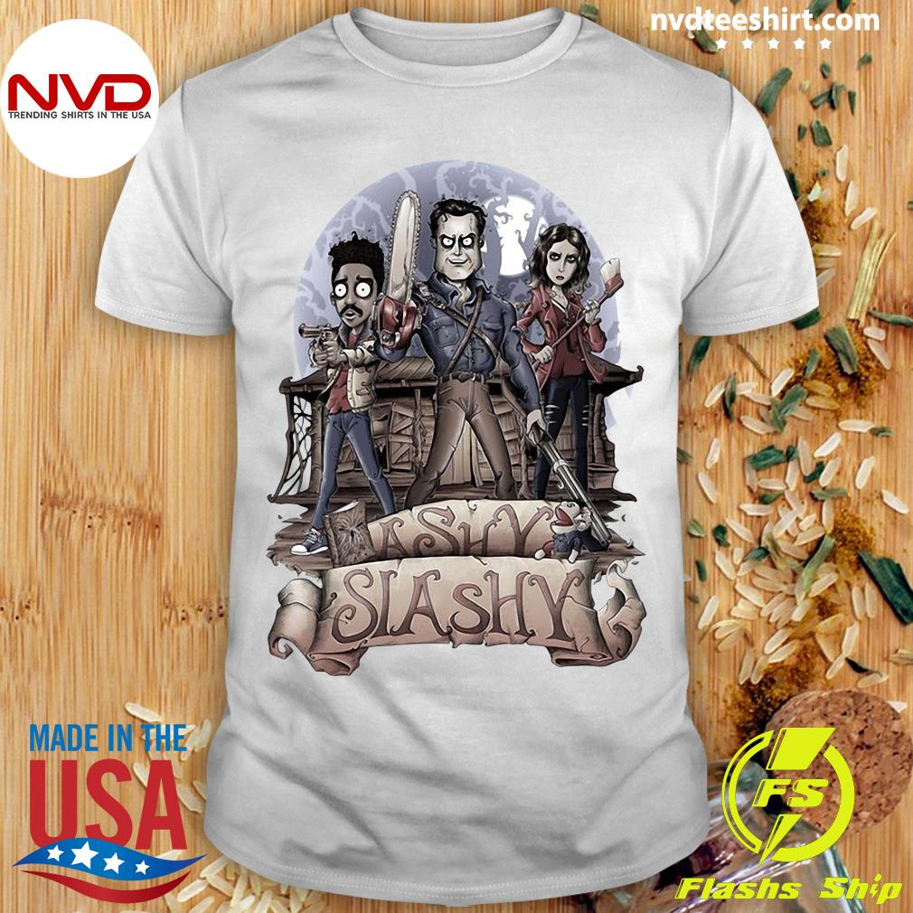 Halloween Ashy Slashy Funny Shirt