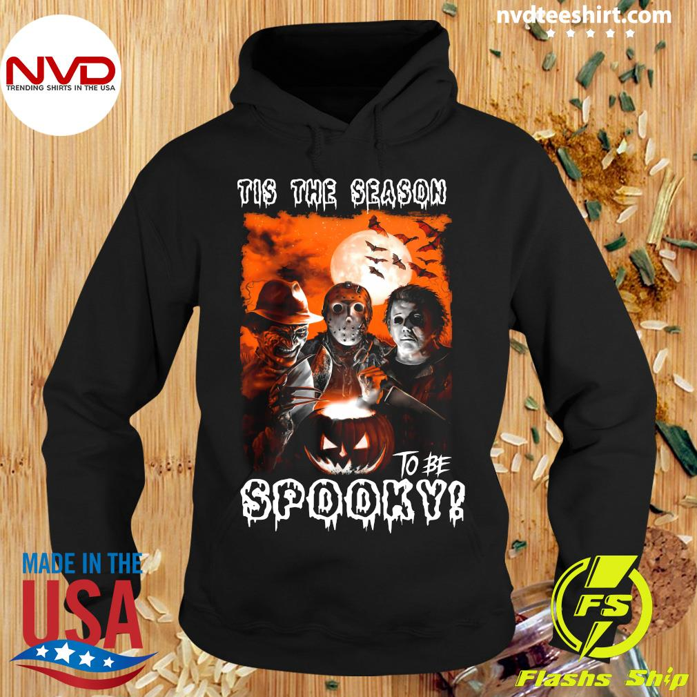 Halloween Tis The Season To Be Spooky Shirt Hoodie