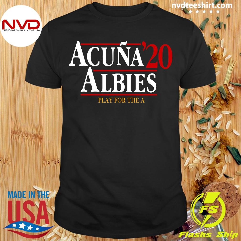 Official Acuna' 20 Albies Shirt