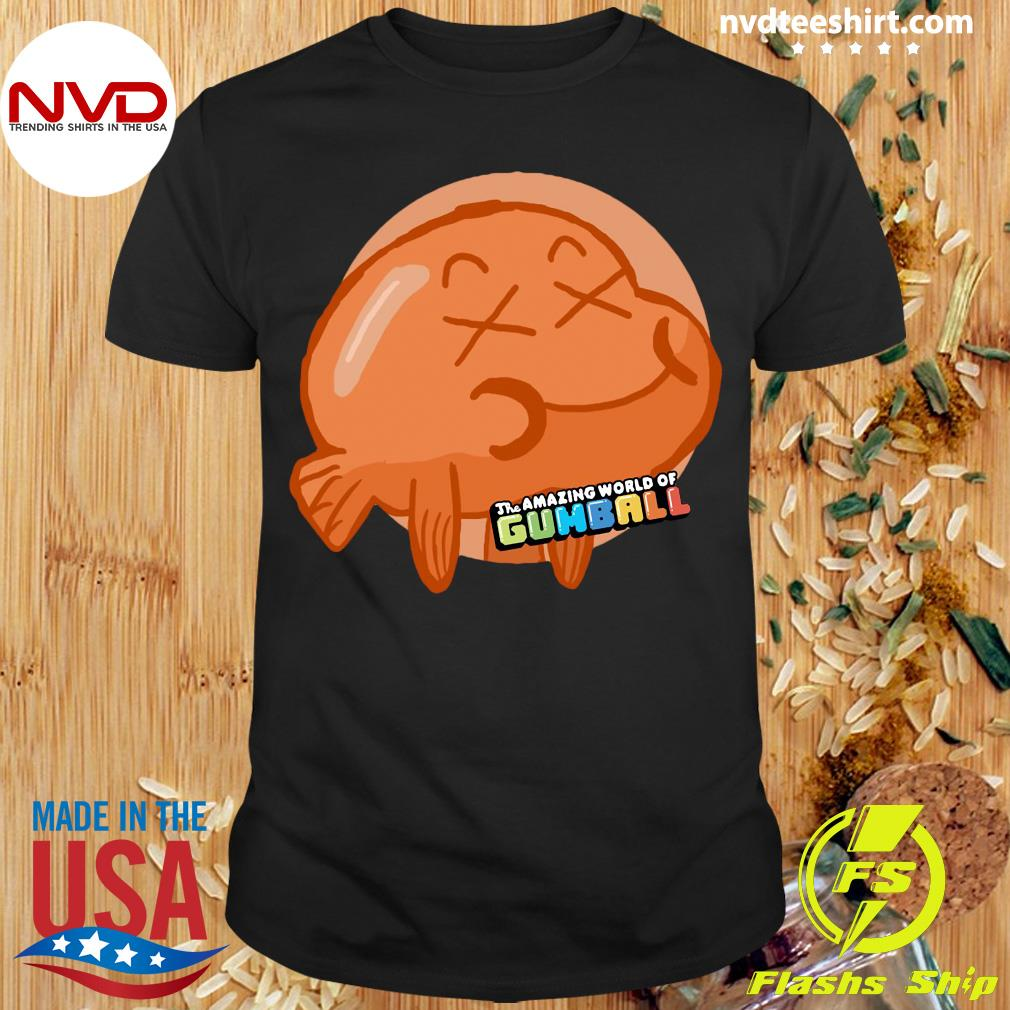 Official Amazing World Of Gumball Darwin Fan Art Kinder Shirt