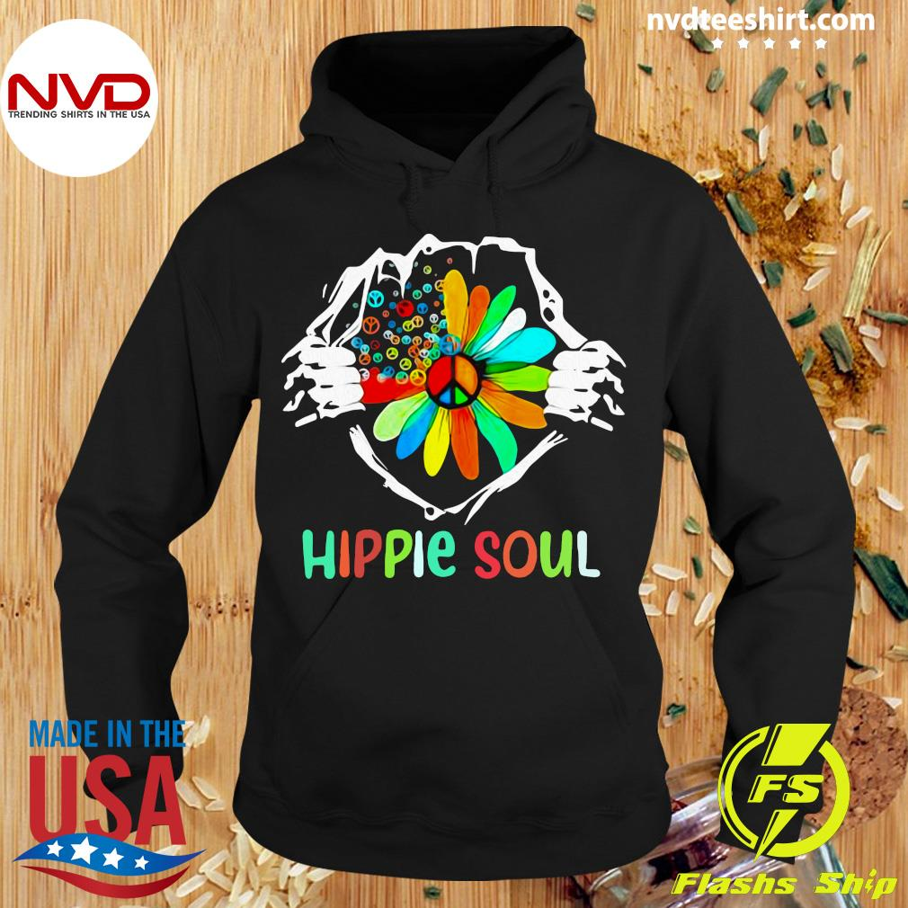 Official Blood Insides Hippie Soul Peace Flower Shirt Hoodie