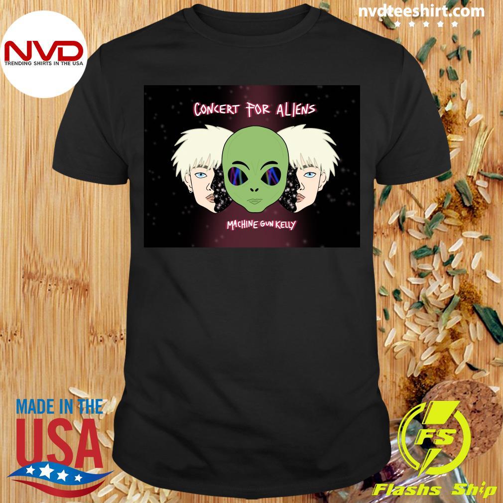 Official Concert For Aliens Machine Gun Kelly Shirt