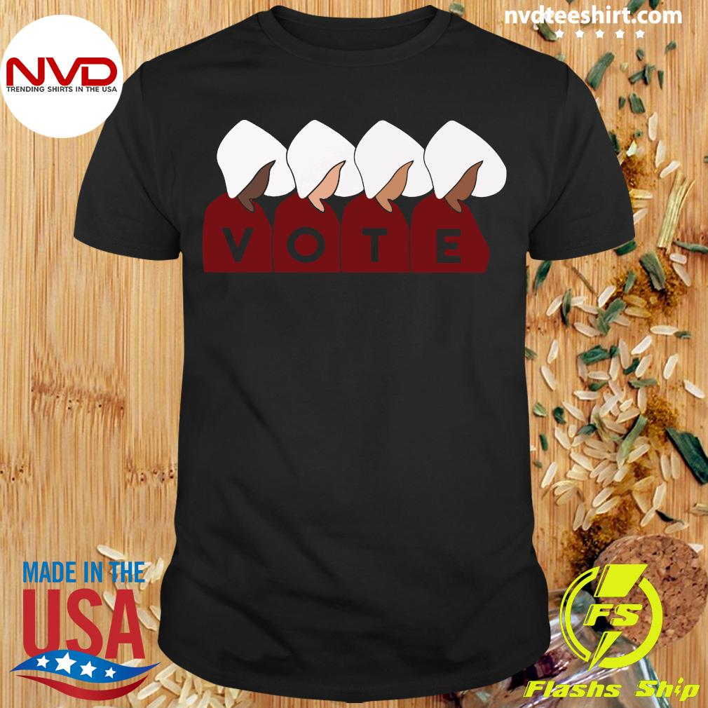 Official Handmaid's Tale Vote Shirt
