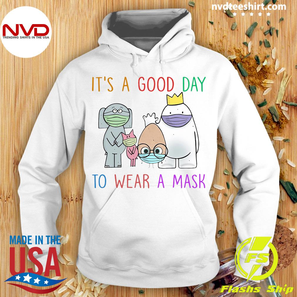 Official It's A Good Day To Wear A Mask Teacher Shirt Hoodie