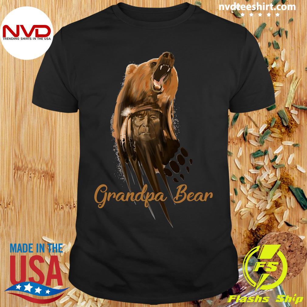 Official Native American Grandpa Bear Shirt