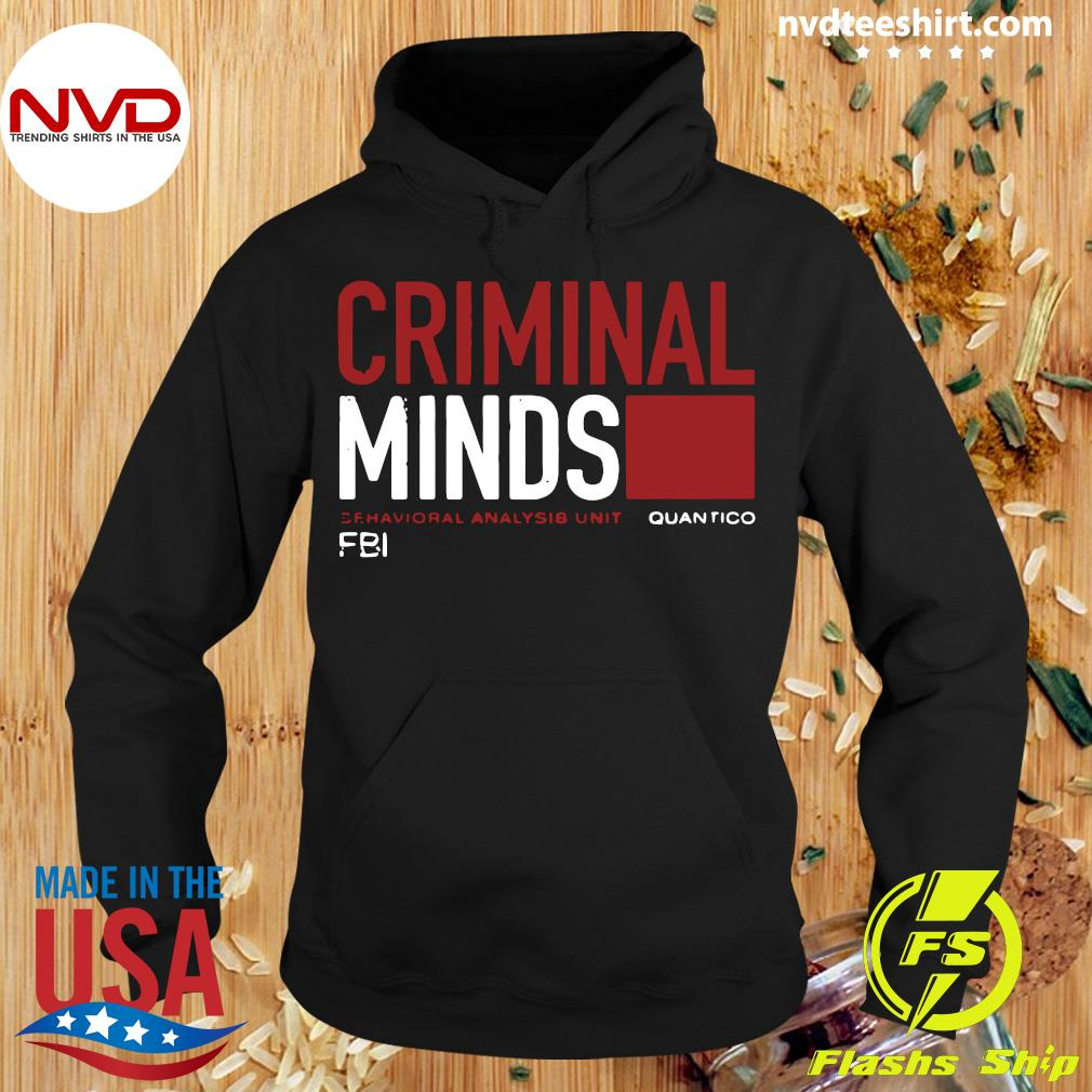 Official Pretty I Want Criminal Minds Quantico Fbi Shirt Hoodie