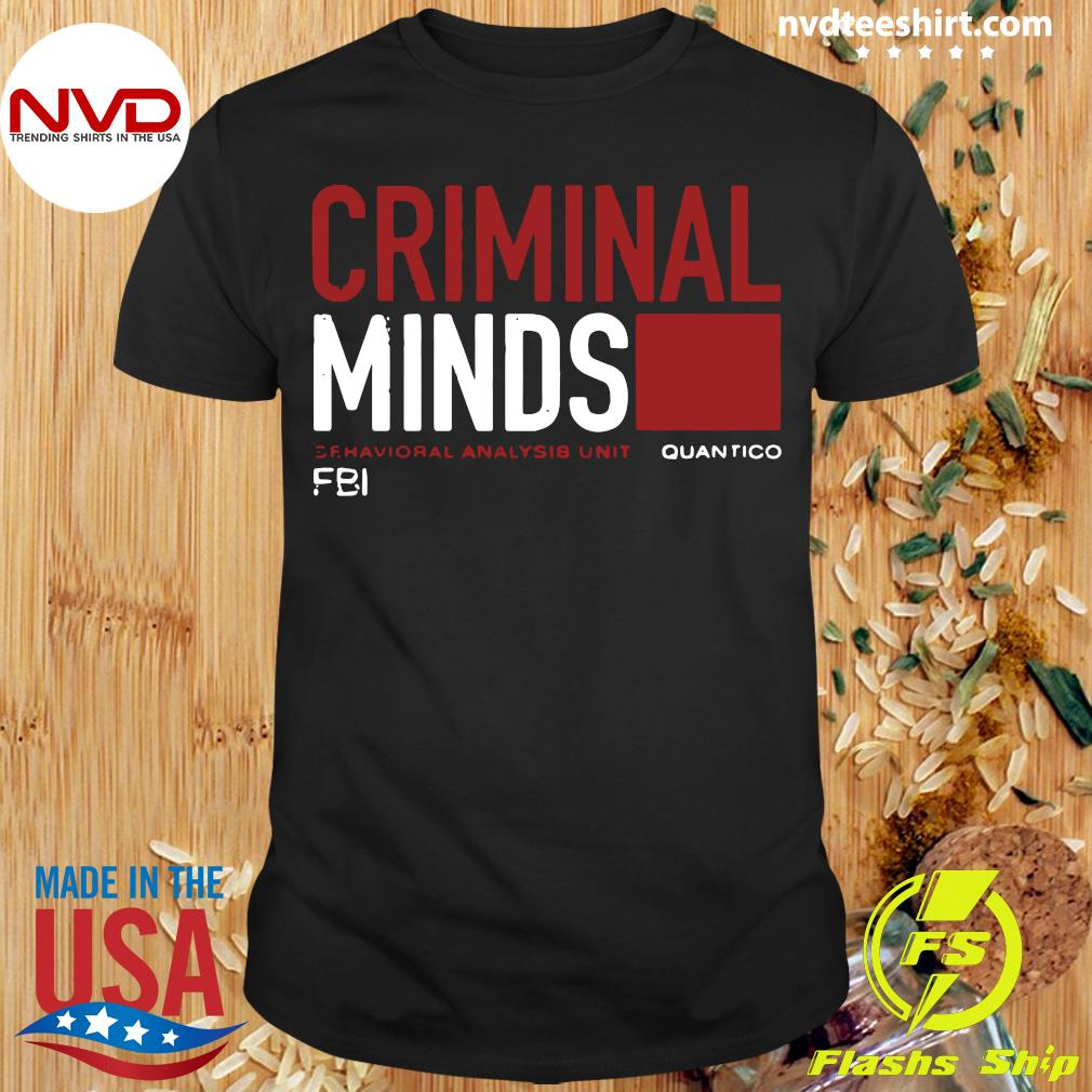 Official Pretty I Want Criminal Minds Quantico Fbi Shirt