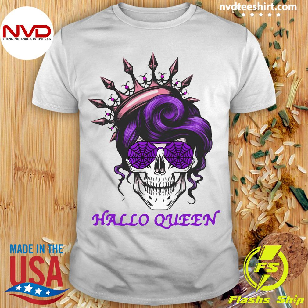 Official Sugar Skull Hallo Queen Shirt