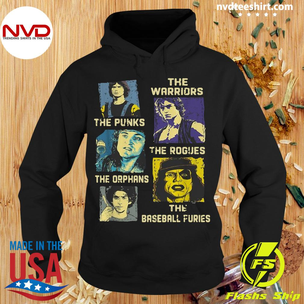 Official The Warriors The Punks The Rogues The Orphans The Baseball Furies Shirt Hoodie